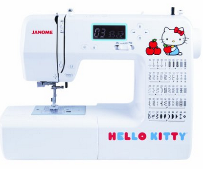 Janome 18750 Hello Kitty Review
