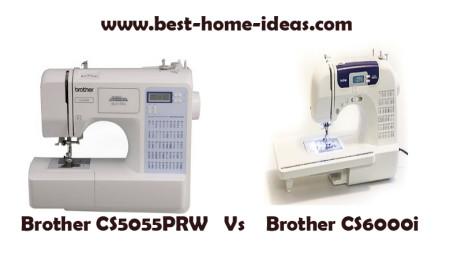 Brother CS5055PRW Vs CS6000i - Ultimate Comparison