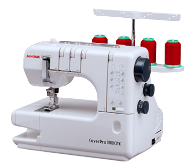 Janome Cover Pro 1000CPX Review