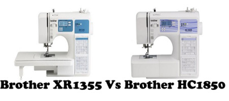 Brother XR1355 Vs HC1850