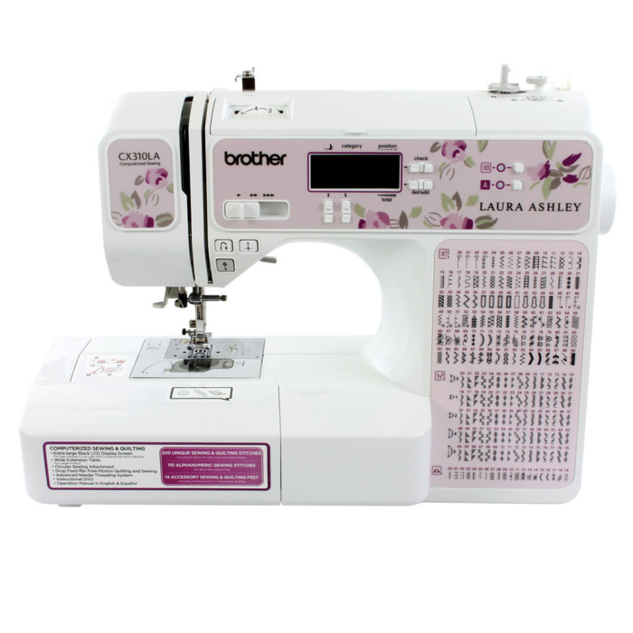 Brother Laura Ashley CX310LA Review