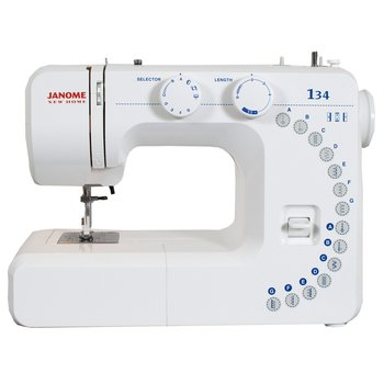 Janome 134 RF Review
