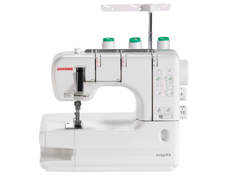 Janome CoverPro 900CPX Cover Stitch Machine Review