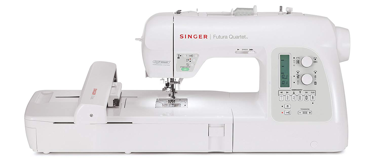 Singer SEQS-6700 Futura Quartet Review