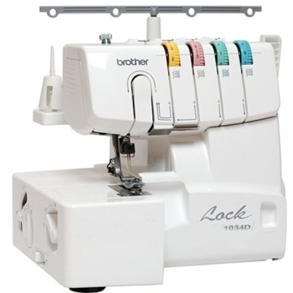 Brother 1034D Lay-In Thread Serger Review