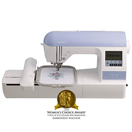 Brother PE770 Embroidery Machine with USB Memory-Stick Compatibility Review
