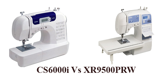 Brother CS6000i vs Brother XR9500PRW