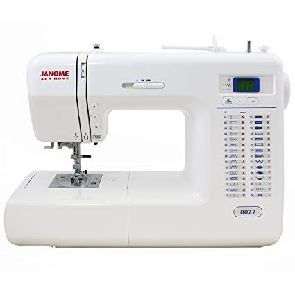 Janome 8077 Computerized Sewing Machine with 30 Built-In Stitches Review