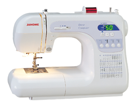 Janome Computerized Sewing Machine DC3050 Review