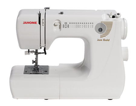 Janome Jem Gold 660 Lightweight Sewing Machine Review