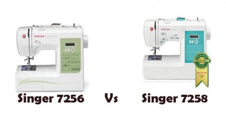 Singer 7256 Vs 7258