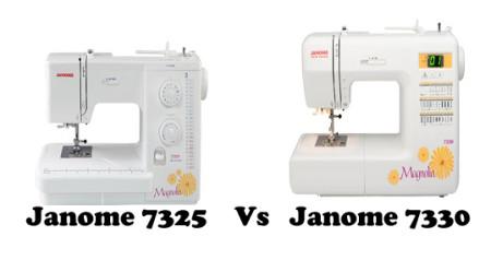 Janome 7325 vs 7330 – Detailed Comparison