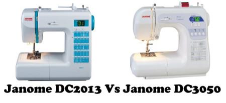 Janome DC2013 Vs DC3050 – Detailed Comparison
