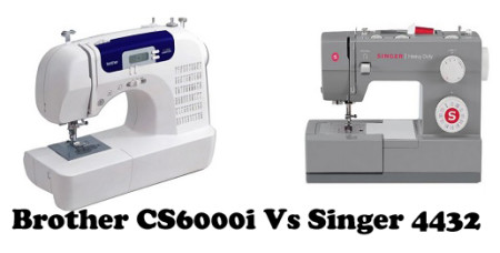 Brother CS6000i Vs Singer 4432