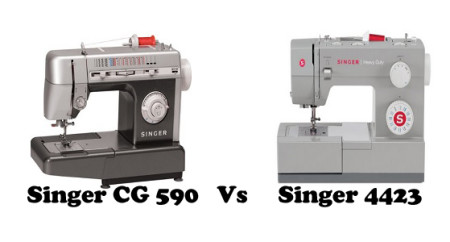 Singer CG 590 Vs 4423 – Detailed Comparison
