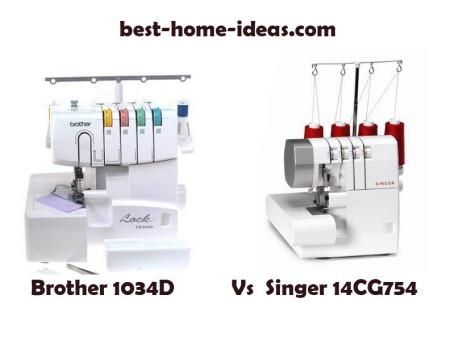 Brother 1034D Vs Singer 14CG754 – Ultimate Comparison