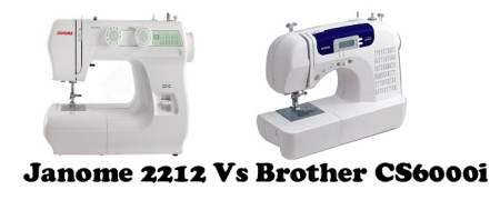 Janome 2212 Vs Brother CS6000i – Detailed Comparison
