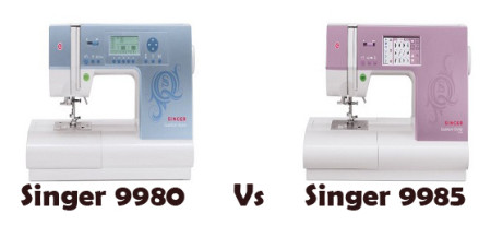 Singer 9980 Vs 9985 – Detailed Comparison