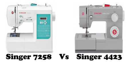 Singer 7258 Vs 4423 – Detailed Comparison