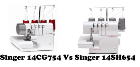 Singer 14CG754 Vs Singer 14SH654 – Detailed Comparison