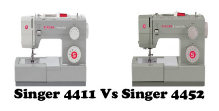 Singer 4411 Vs 4452 – Detailed Comparison