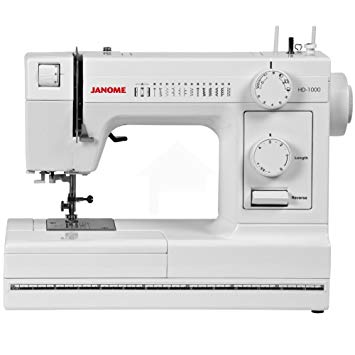 Janome HD1000 Heavy Duty Sewing Machine Review