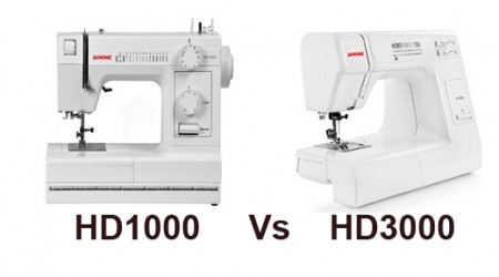 Janome HD1000 Vs HD3000 Comparison