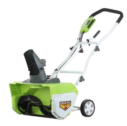 GreenWorks 26032 Snow Thrower User Review