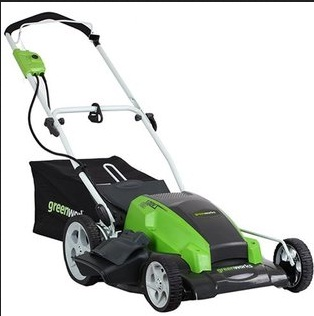 Greenworks 25022 Electric Lawn Mower User Review
