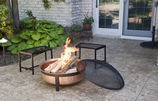 CobraCo SH101 Copper Fire Pit User Review