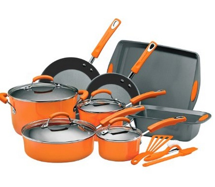 Rachael Ray Nonstick 15-Piece Cookware Set Review
