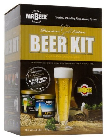 Mr.Beer Premium Gold Edition Beer Brewing Kit User Review