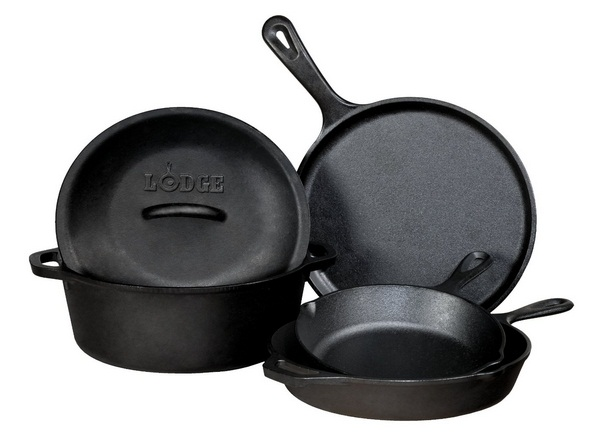 Lodge 5-Piece Cast Iron Cookware Set Review