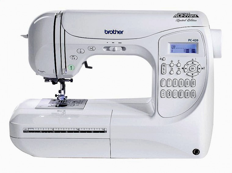 Brother PC-420 PRW Project Runway Sewing Machine Review