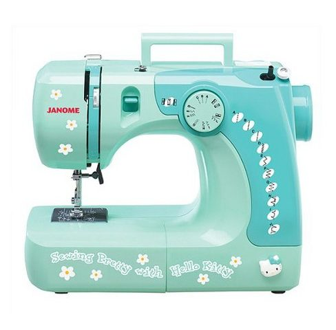 Hello Kitty Sewing Machine: Pretty As A Picture And Sews Well Too!