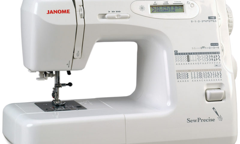 Janome Sew Precise 37 Stitch Computer LCD Review