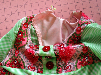 Finishing a Garment Without a Serger