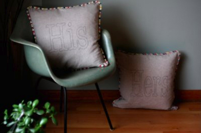 His+Hers Pillows