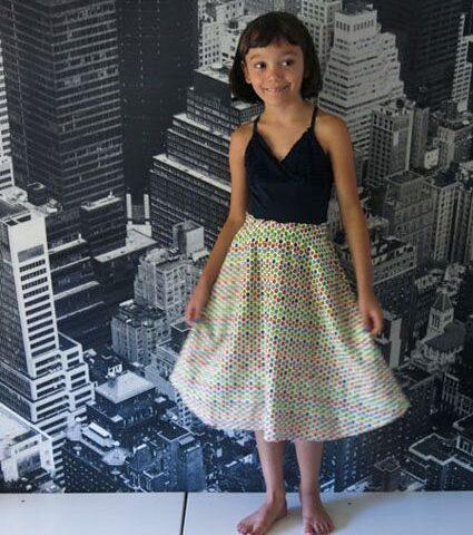 Super Easy Convertible Skirt/Dress