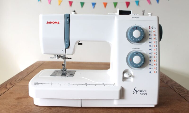Janome 525S sewing machine reviewed