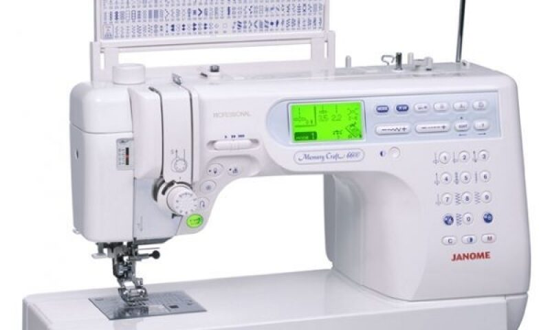 Janome 6600 sewing machine review