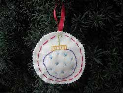 Merry Stitches Ornaments